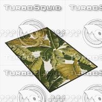 3d model of pindo area rug