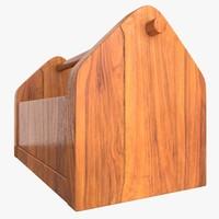 wooden tool box dwg