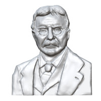 3d model theodore roosevelt