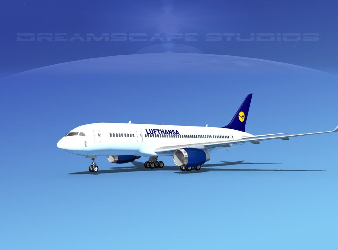 3d airline boeing 787 787-8