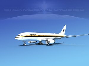 3ds max airline boeing 787 787-8