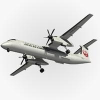 Dash 8 Q400 JAL
