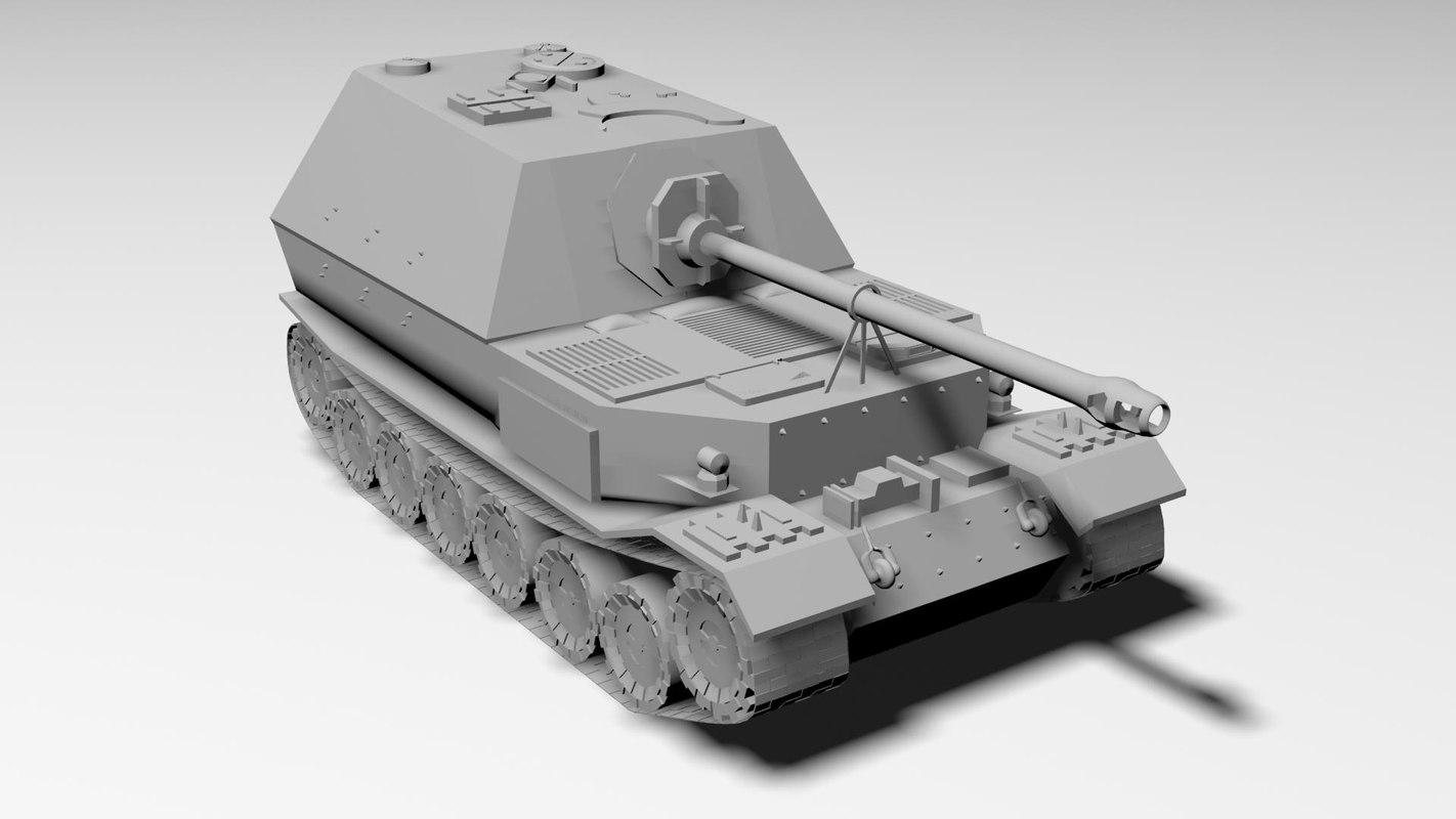 ferdinand tank german 3ds