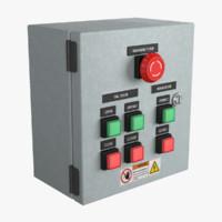 Hangar Doors Control Panel