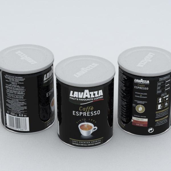 coffe lavazza black 250g max
