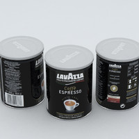 Coffe Can Lavazza Black 250g 2016