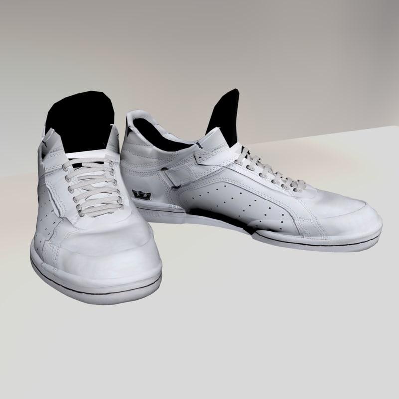 3d sneakers model