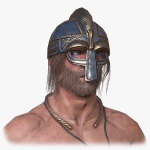 viking berserker 3d model
