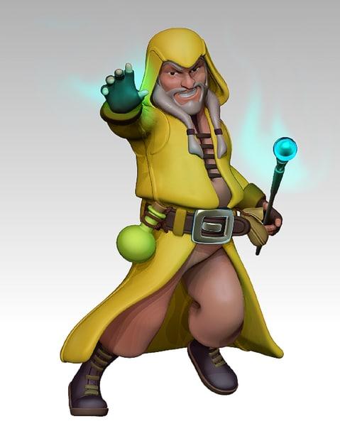 3d model wizard