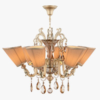 692062 guarda osgona chandelier 3d model