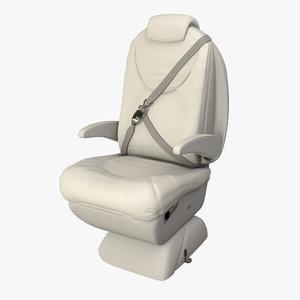 3d cessna citation xls seat model