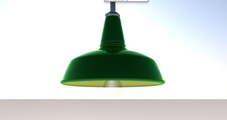 vintage light lamp 3ds