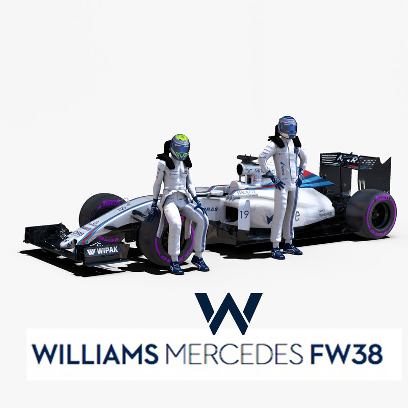 3d williams fw38