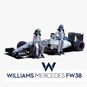 3d williams fw38