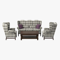English Style Furniture Set