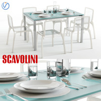scavolini axel miss table chairs max