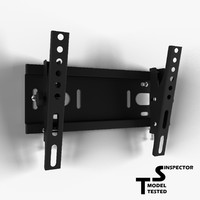3d model tv wall mount
