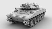 Tank high poly