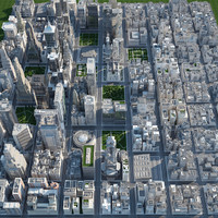 3d city - big