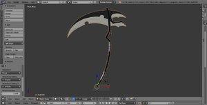scythe 3d model