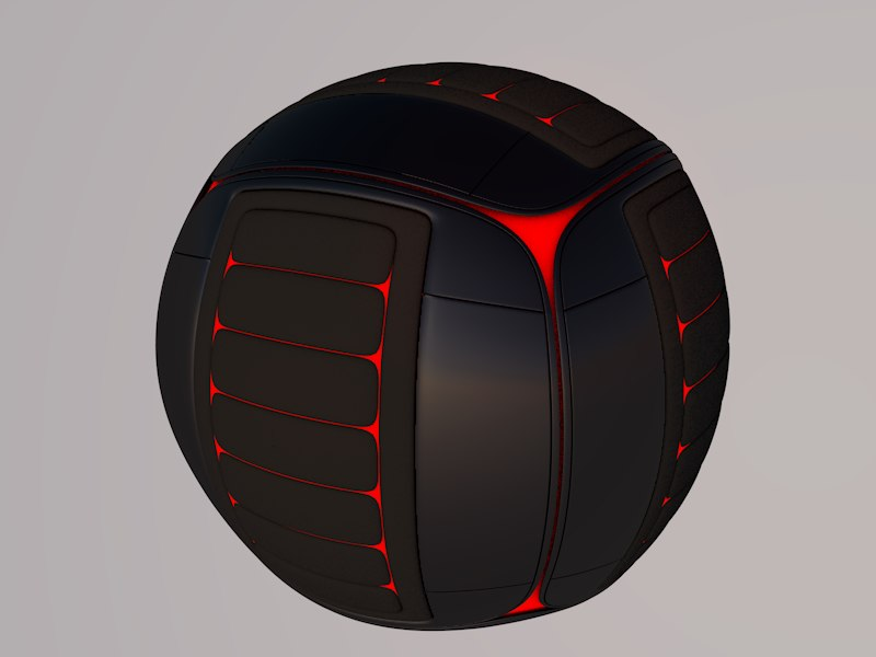 c4d tech sphere