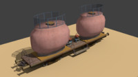 train wagon 3d model
