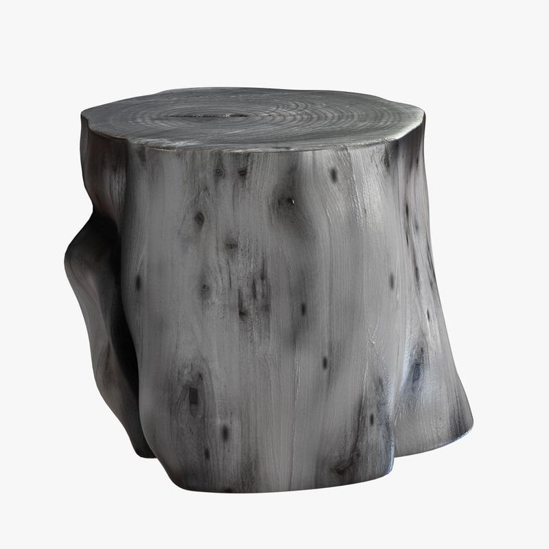 log table mitchel gold 3d max