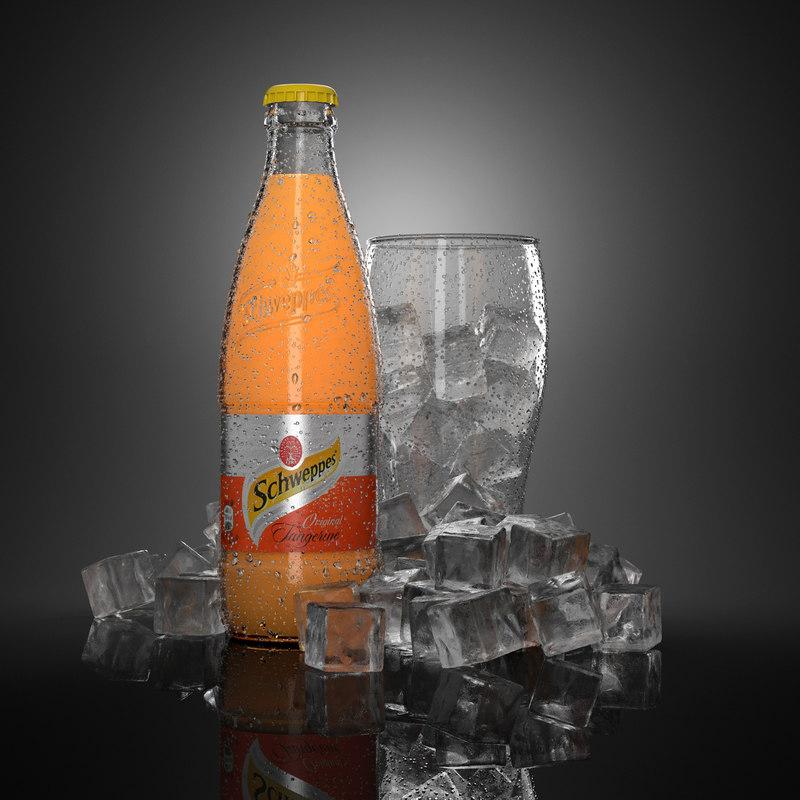 3d max commercials water droplets