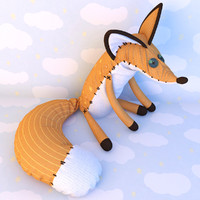 max fox stuffed toy