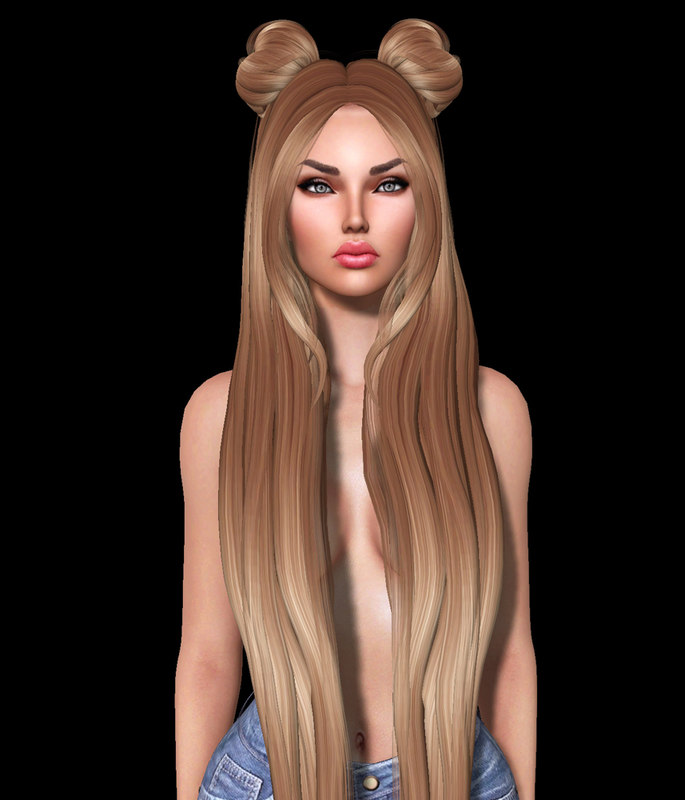 hairstyle second life obj