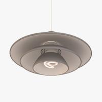 3d classic ceiling lamp