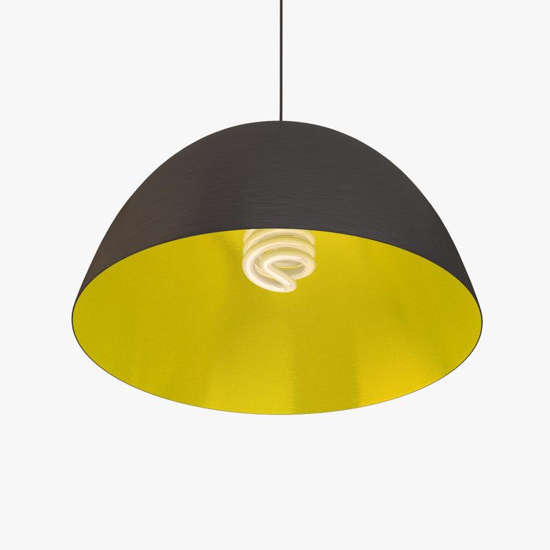 3d simple ceiling lamp