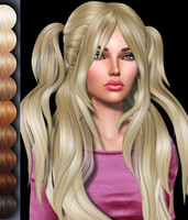 3d model hairstyle 2