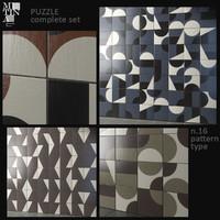 3d max tile puzzle mutina -