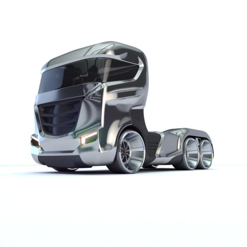 max concept future truck modelling
