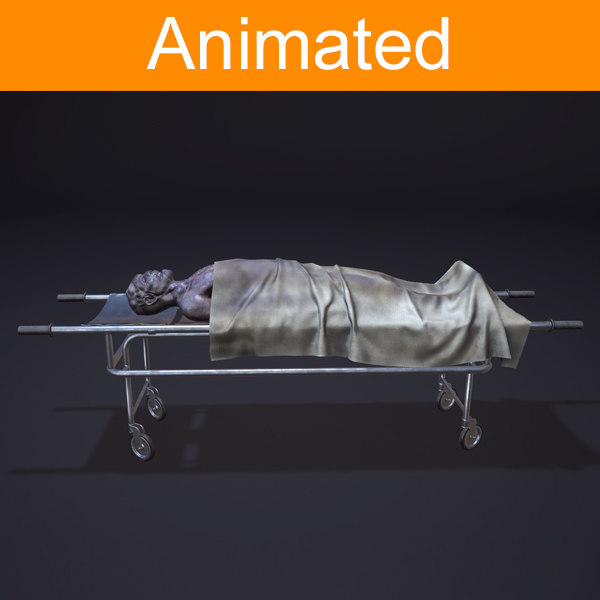 3d model corpse animations