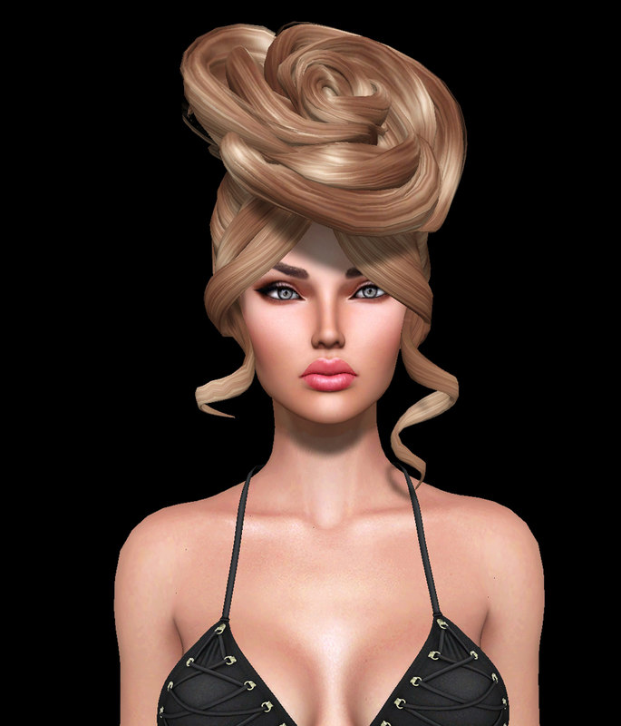 3ds hairstyle 2