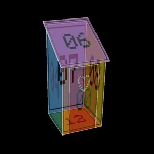 free small shed 3d model
