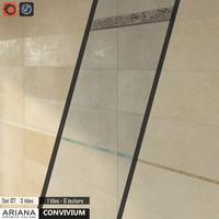 3d tile ariana convivium set