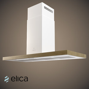 3d model bio island elica -