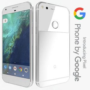 3d model google pixel