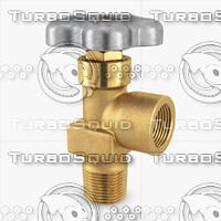 3d model of gas valve