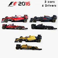 3 formula 1 2016 3d 3ds
