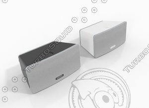 sonos play:3 3d model