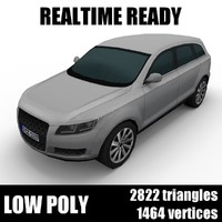 Generic low poly SUV 002