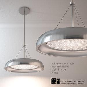 soleil pd-51418 modern forms 3d model