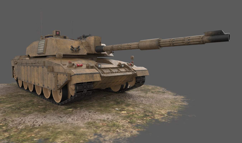 2 challenger 3d model