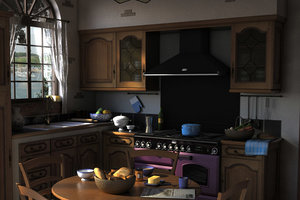 max traditional kitchen