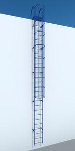 metal ladder 3ds