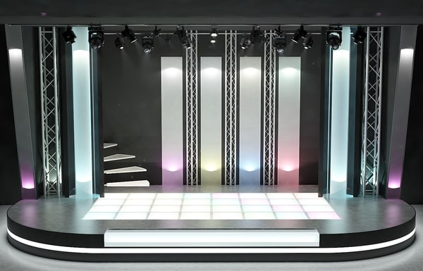 3d model of stage 1